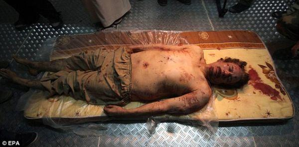 「最後を遂げた」リビアの独裁者.....ムアンマル・カッザーフィー