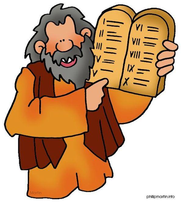 モーセの十戒 :『言葉通りに行動している...』