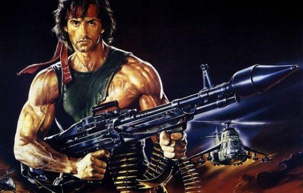 ラムボ : 『 やるべきことをやる ! 』 Rambo : 『Don't push it! Don't push it or I'll give you a war you won't believe ! 』