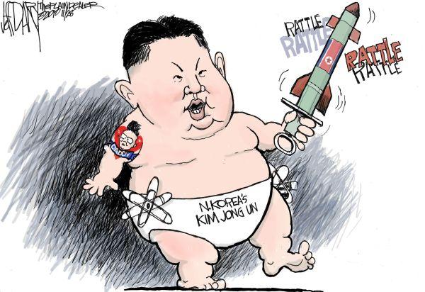 世界で最も強力な原子力国 = 北朝鮮.... 1対全世界 ! すごい じゃ ! 拍手 ! 拍手 !