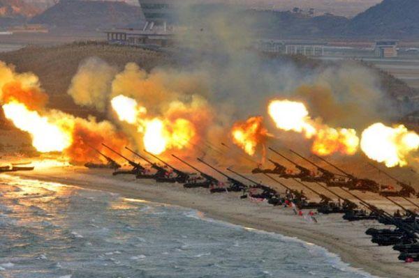 金正恩 : 『 ソウルを火の海に落ちる !』