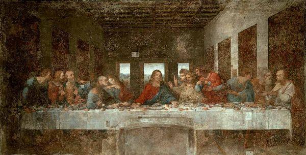 レオナルド・ダビンチの「最後の晩餐」