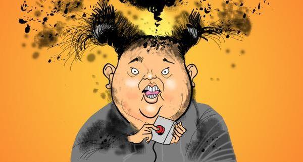 北朝鮮軍の挑発...