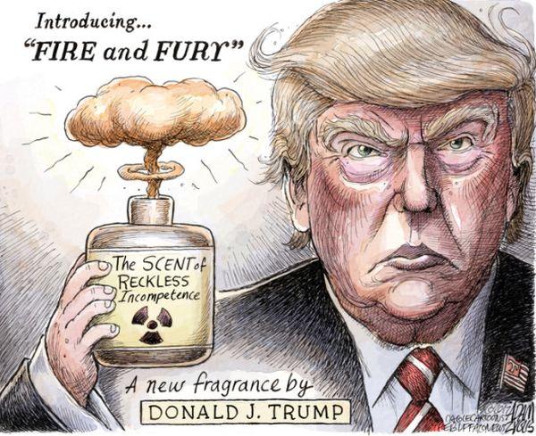 思い出した !!! 3ヶ月前....8月9日....トランプ大統領 :『北朝鮮を...見たこともない炎と怒りに直面する !!!』