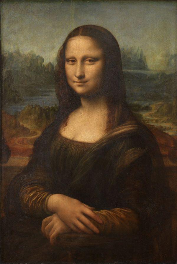 レオナルド・ダ・ヴィンチ他のの作品 ..... 油絵の『モナ・リザ』