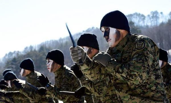正恩氏斬首作戦, 殺人訓練を受ける韓国陸軍特殊戦司令部