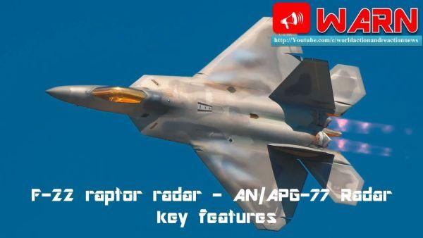 F22...レーダーにまったく映らない. 過去撃墜されたことが一度もない !