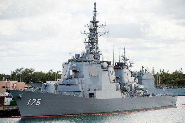 海上自衛隊のイージス艦...ミサイル護衛艦DDG-175 みょうこう
