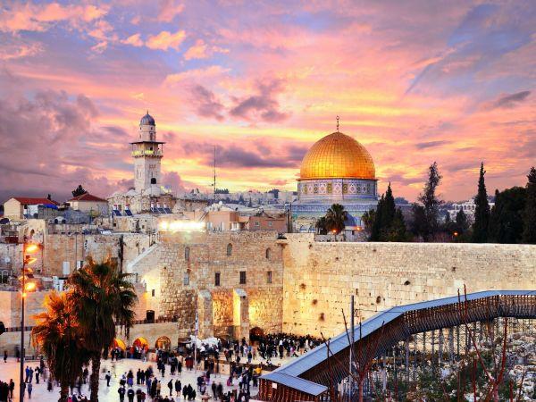 キリスト教, イスラム教, ユダヤ教の聖地, 三宗教「共存」の町 = エルサレム !!!