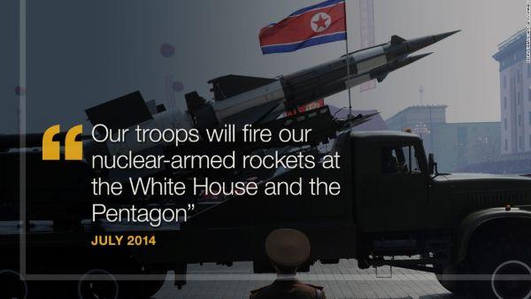 偉大なる指導者 :『 今...アメリカのホワイトハウスとペンタゴンを攻撃する準備をして, 早く攻撃するの計画です !』