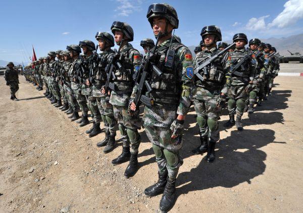中国東北部を防衛する要員を増やす