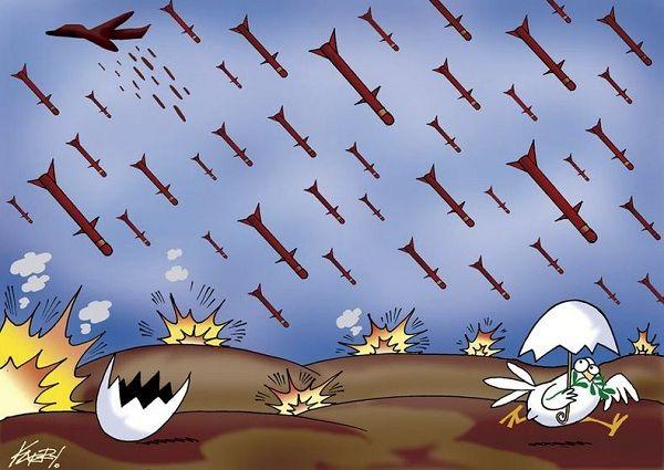 ですから, 北朝鮮を.....攻撃っ !!!