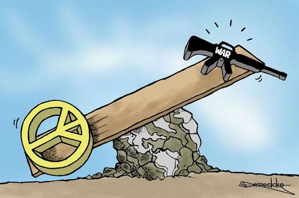 北朝鮮が平和的解決を拒否したと判断 !