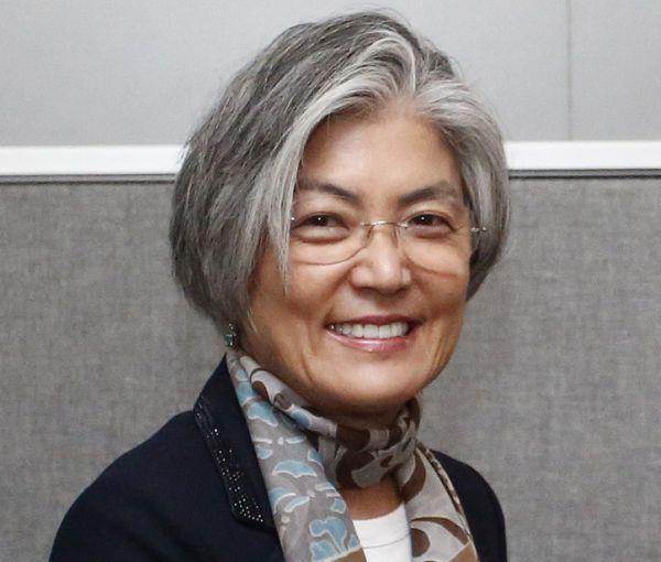 韓国の康京和(カン・ギョンファ)外相