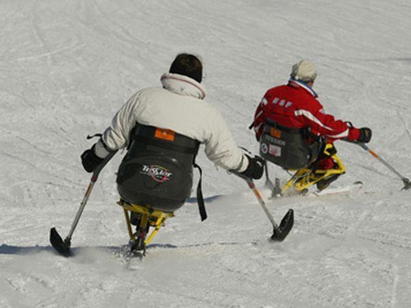 パラリンピック.スキー選手