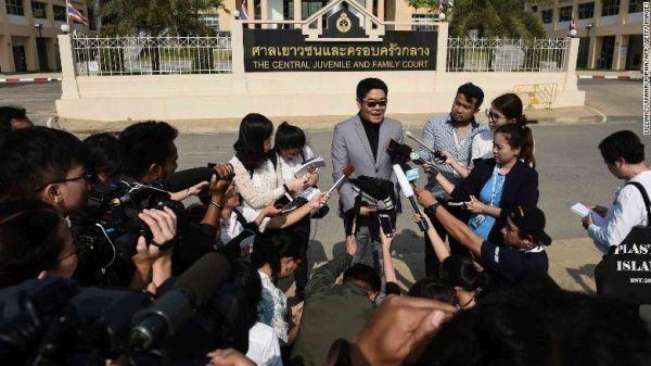 重田光時タイでの任命弁護士, いいの知らせを発表...