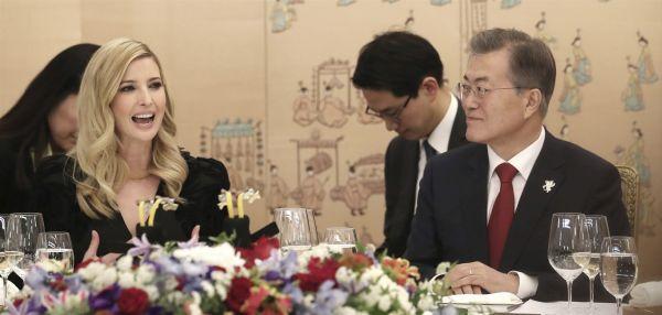 将来「南北統一朝鮮国」金正恩大統領の助手文在寅とイバンカ・トランプ大統領補佐官