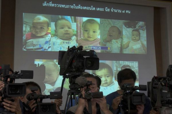 2014年, この代理出産事件発覚直後, 日本とタイの社会も大騒ぎになった