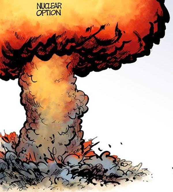 ペンス副大統領 : 『全ての選択肢がテーブルの上にある....核攻撃をも含む !』 北朝鮮への核攻撃....ただ時間の問題です ! いいね !