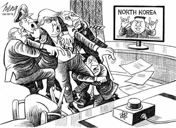 トランプ大統領 :『もう限界だ ! 耐えられません !』