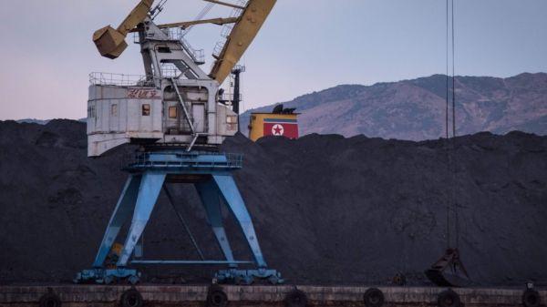 北朝鮮産の石炭