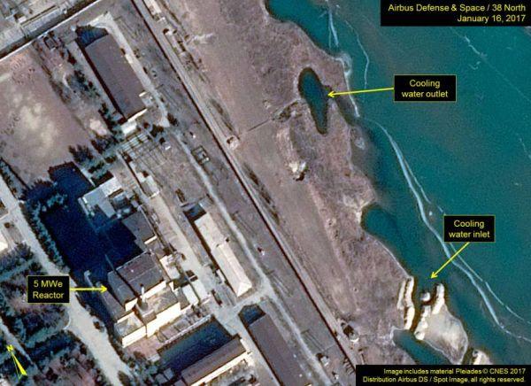 北朝鮮北西部・寧辺(ニョンビョン)の核施設.....北朝鮮 ! 頑張れ ! (*´◡`*) !
