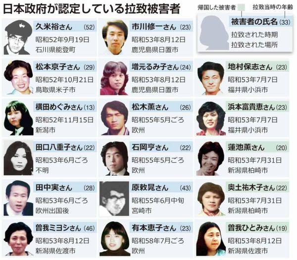 日本人拉致問題