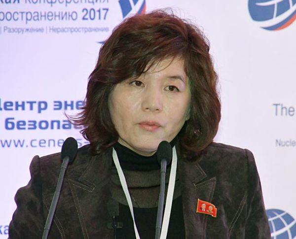 北朝鮮の崩壊を恐れている北朝鮮外務省の崔善姫北米局長, 平和を求める....対話再開を目指す