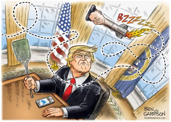 アメリカとの対話....トランプ大統領 : 『五月の蝿 !うるさい !』