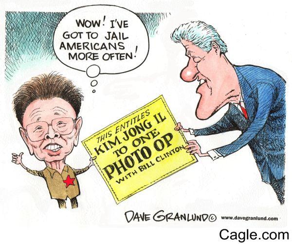 アメリカのビル・クリントン大統領と北朝鮮の「大悪魔さん」 1994年の「米朝枠組み合意」.....