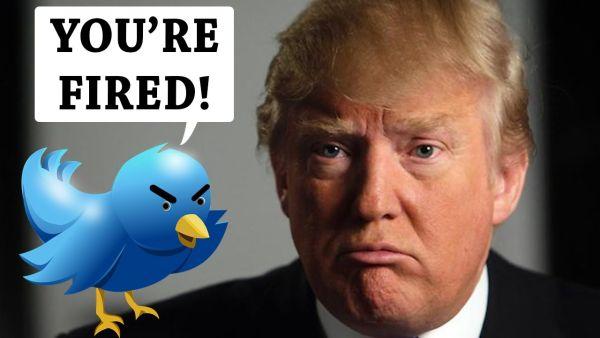 トランプ大統領 : 『コラッ ! お前っ ! 首っ !』 またしてもツイッターへの投稿だった...(*´◡`*) !