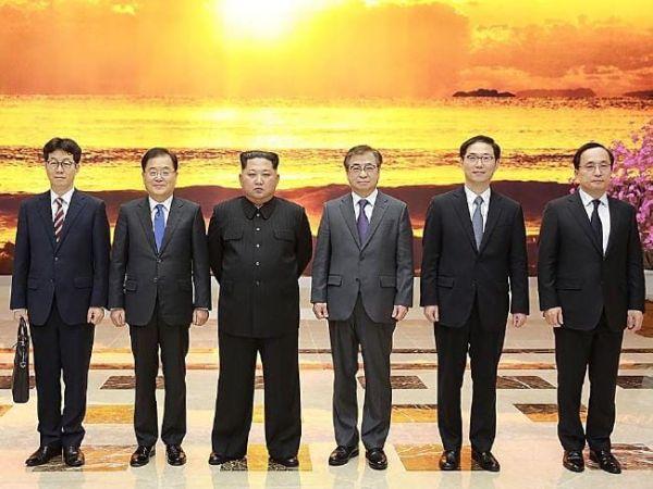 韓国と北朝鮮との会談