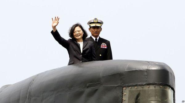 老朽化したの台湾潜水艦