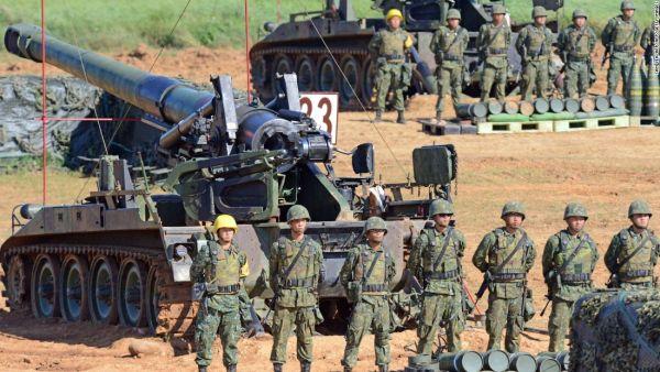 米国が, 中国の警告を無視して, 多くの最先端技術軍事機器を台湾に供給した ! あたし大好きなのアメリカ ! 最高の最高だ !!!