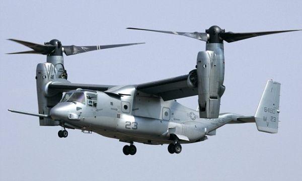 米空軍の輸送機CV22オスプレイ