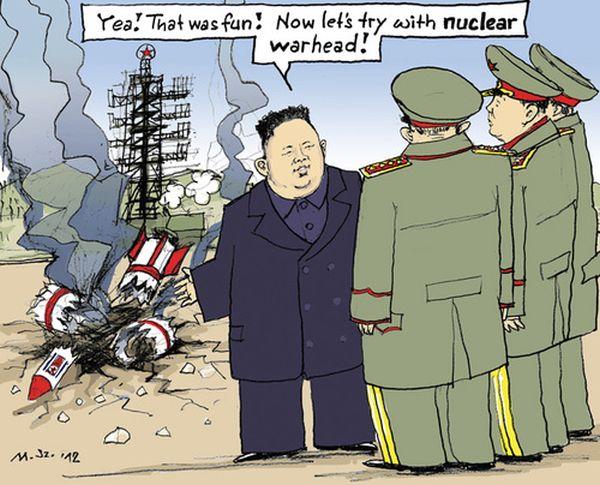 金豚 : 『核兵器の開発が完了した !』