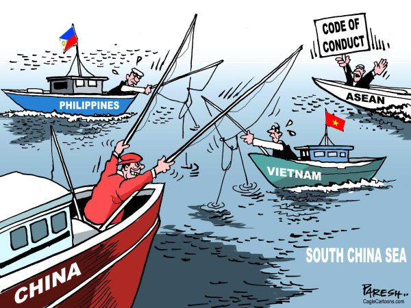 天下目指し, 「ならず者国」共産中国の親分習海賊 : 『全世界の海域も僕のもの !』
