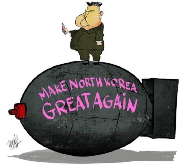 『Make North Korea GREAT again !』 核は持ち続けるという意志を明らかにした
