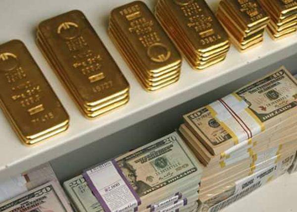 金塊, 宝石, 現金....