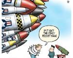 トランプ大統領 :『 われわれの核能力は非常に強力であり....いひひひ !』