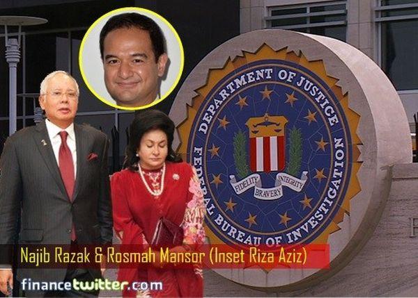 アメリカ連邦調査局のファイル...ナジブ夫妻の息子さんRiza Aziz, 今国際指名手配中 ! どこかへ逃げちゃったかな !!