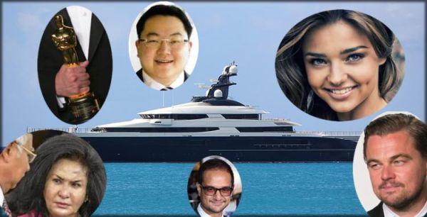 連邦調査局のファイル...1MDB から盗まれたの金を使う買ったの大きなヨット....米ドル2億5000万 ! 今アメリカで押収された.