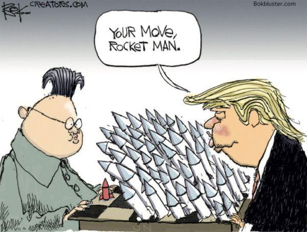 北朝鮮対アメリカ ! ! (⌒‐⌒) ! (⌒‐⌒) ! (⌒‐⌒) ! ♪♪♪ !