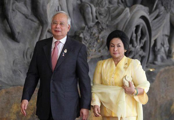 マレーシア史上最悪の億万長者ナジブ首相夫婦.....マレーシアの恥 ! (。-_-。) !