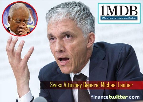 スイスの検事総長 ジェフセッション : 『信じられないわ ! 1MDB は史上最大の資金洗浄不祥事です ! 』