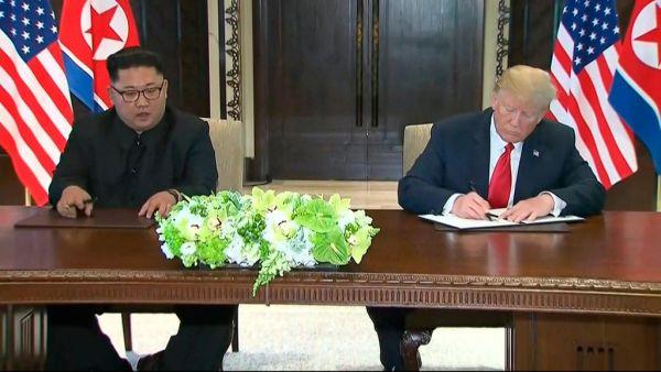『大成功だった !』自画自賛トランプ大統領の米朝首脳会談