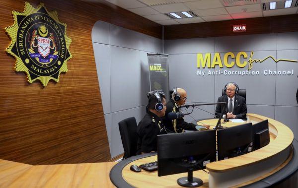 マレーシアの汚職対策委員会(MACC)