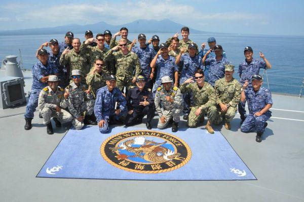 7月18日~30日の間、海上自衛隊は、米海軍及びインド海軍とともに、陸奥湾において共同掃海訓練を実施しています。