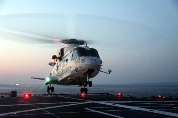 搭載ヘリ11機