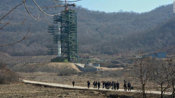 西海(ソヘ)の衛星発射場